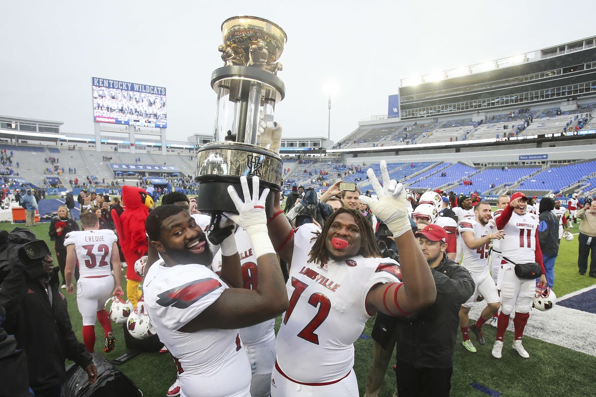 Video: Louisville Football Governor's Cup Hype Video | RED ...