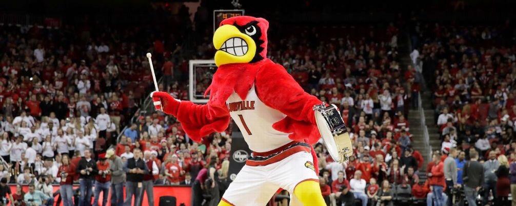 Cardinal Mascot Basketball Suit